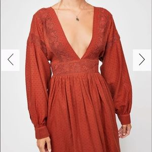 Free people sugar pie mini dress